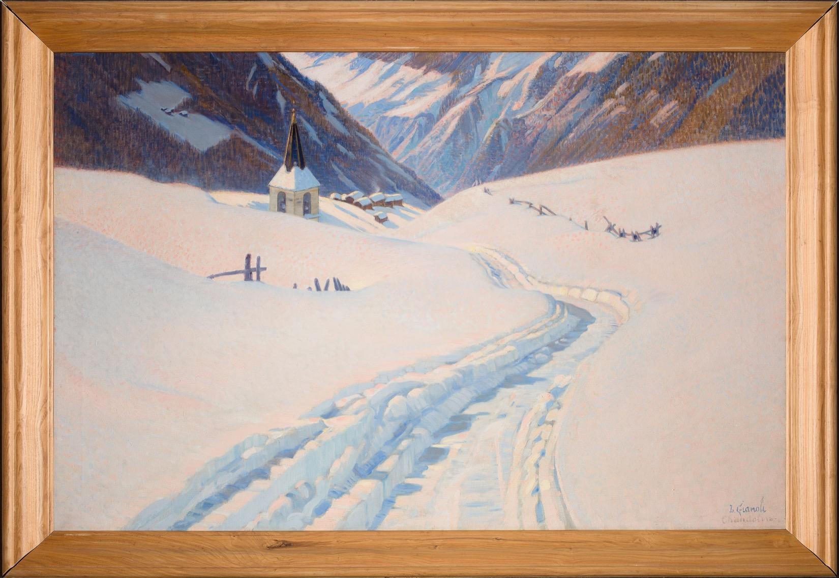 Chandolin sous la neige