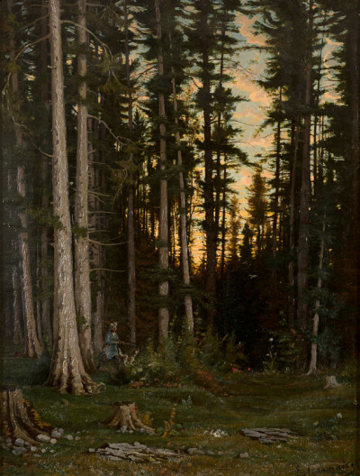 Le Chasseur dans la Forêt