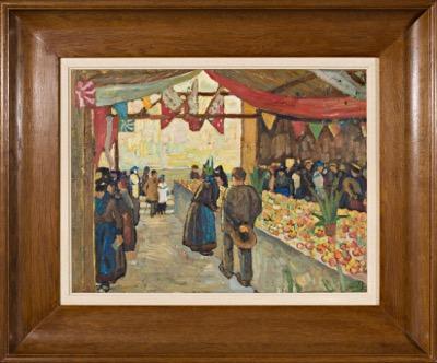 Le marché à Sierre