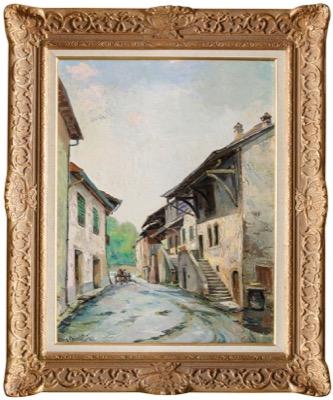 La Rue Des Galeries A Hermance