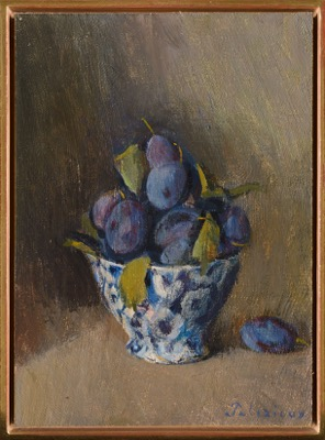 Nature morte aux prunes